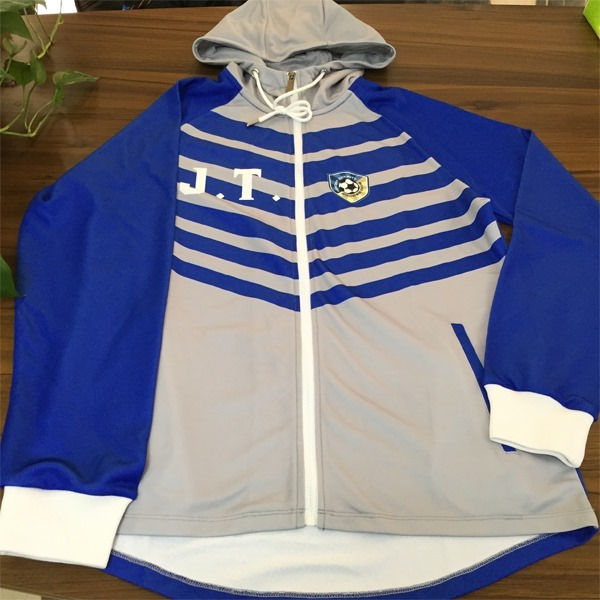 Custom Sublimation Hoodie with Front Paneling AFYM-5033