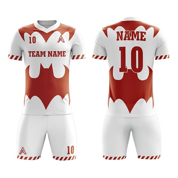 Customize Sublimation Soccer Kits with Bat Icon AFYM:2097