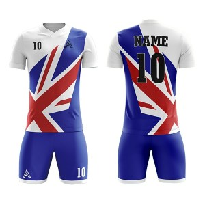 Sublimation Soccer Kits with Flag Icon AFYM:2094