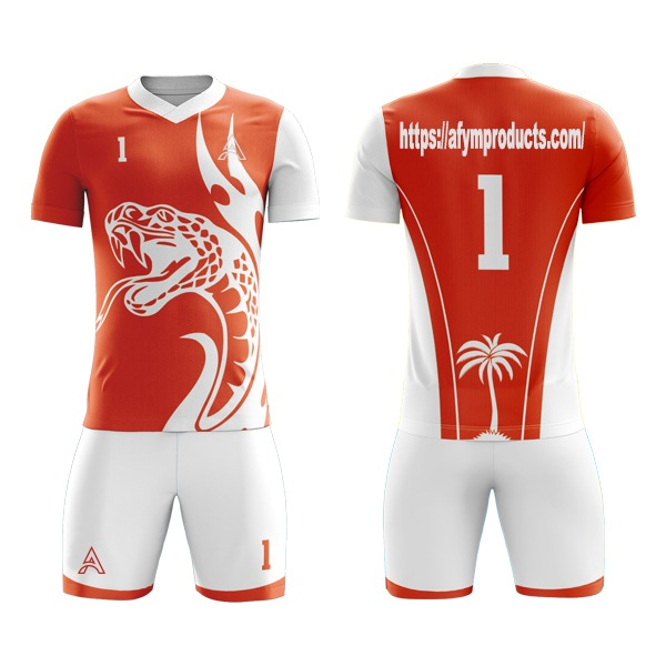 Sublimation Soccer Kits with Snake Icon AFYM:2088