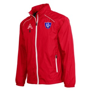Techno Red Rain Jacket with Shoulder Lining AFYM-6017