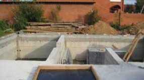 Материалы, используемые в строительстве фундаментов