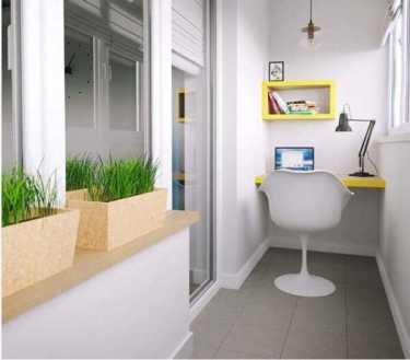 Как превратить свой маленький балкон в уютное место