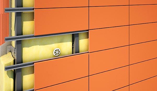 конструкция вентилируемого фасада