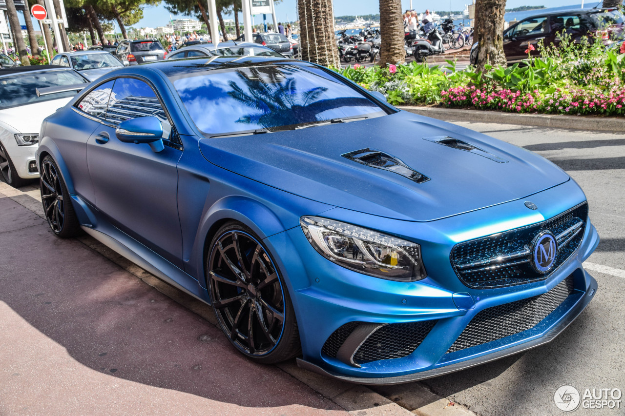 Mercedes Benz Mansory S 63 AMG Coup Diamond Edition 4