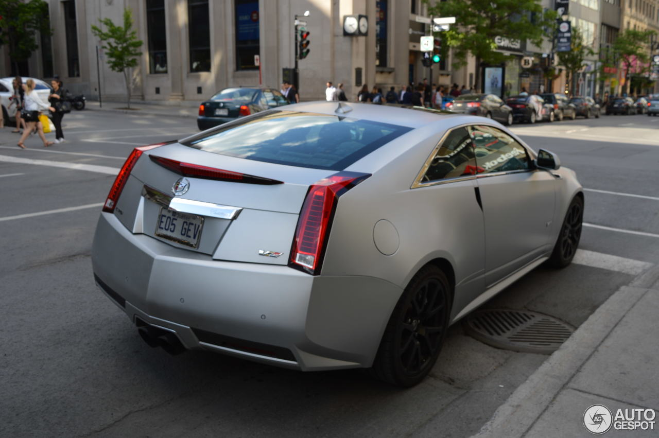 V Cts Coupe Caddy