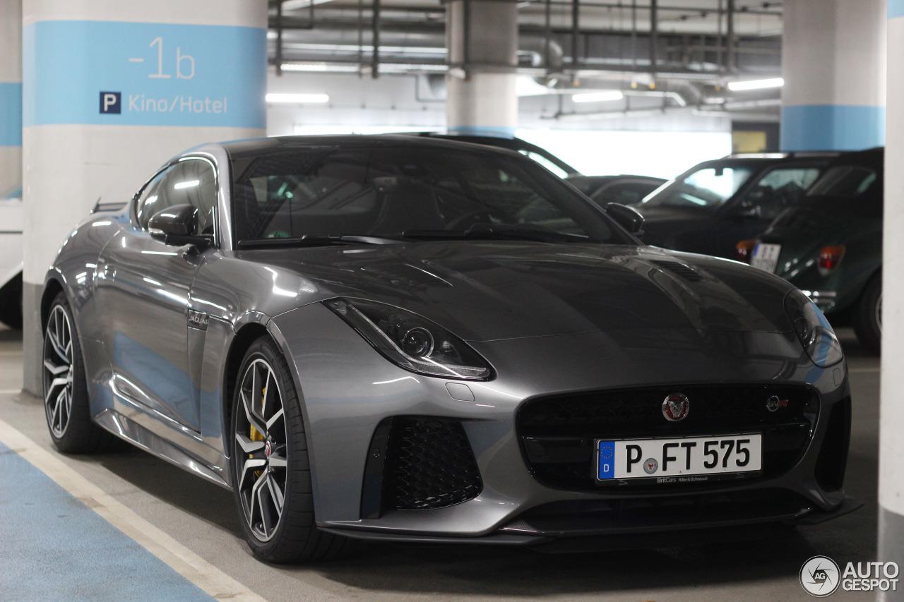 Jaguar F TYPE SVR Coup 29 September 2016 Autogespot