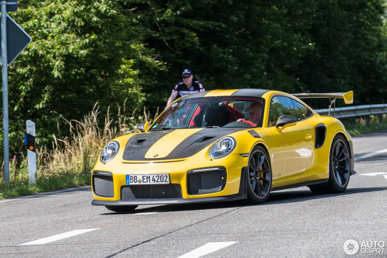 Porsche 991 GT2 RS Weissach Package 18 July 2017