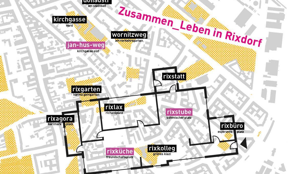 Wohnungsgrundriss über Rixdorf