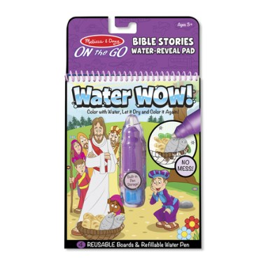 Bible Story Water Reveal Activity Pad