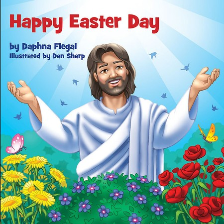 Happy Easter story of Jesus book