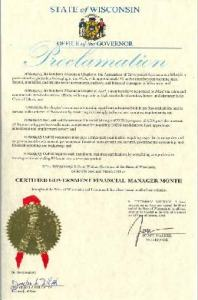 Governor Walker Proclamation