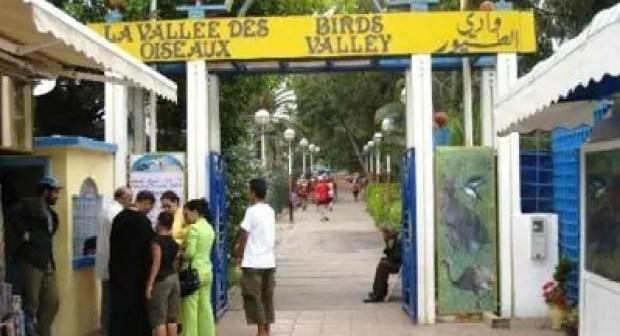 """""""العمران"""" تدخل حديقة وادي  الطيور بأكادير"""