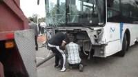 """حافلة """"ألزا"""" بأكادير تقتل راكب دراجة نارية أمام المركب التجاري سوق الأحد"""