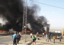 عااجل وبالفيديو:انفجار يهز سوقا شعبيا في تونس وتفحم جثث العديد من المواطنين التونسيين