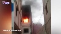 """مؤلم.. حريق مهول بشقة يقتل امرأة وطفلها بتطوان والسبب """"شارجور"""""""