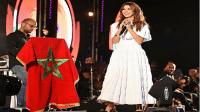 بالفيديو… شاهد رقصة نانسي عجرم المثيرة بمهرجان اكادير!!