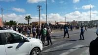نايضة باشتوكة:اعتقالات تعقب أعمال العنف و الحرائق بجماعة سيدي بيبي
