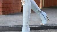 بالصور:غضب فايسبوكي عارم بعد ظهور موضة جديدة للفتيات يرتدين سراويل مشروكة مع أحذية إلى جانب السراويل المقطعة في أماكن حساسة