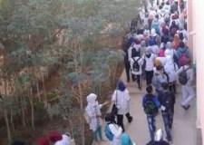 """+صور احتجاجات تلاميذية بطاطا تحت شعار """" أولادكم قريتهوم أولاد الشعب قهرتهوم"""""""