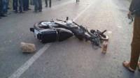 """عااجل بأكادير:دراجة نارية تصطدم بصخرة كبيرة """"بالعين السخونة"""" ومصرع راكبها على الفور"""