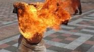 تفاصيل إضرام مغربي النار في جسده بمدريد والسفارة توضح موقفها