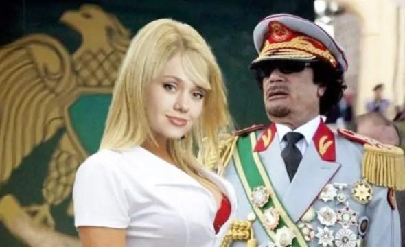 فيديو : خطير وناذر للقذافي يمارس الجنس مع ممثلة مقابل 5مليون دولار