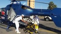 مروحية طبية تنقذ حياة رضيعة تعاني من ضيق حاد في التنفس