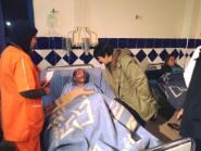 أكادير24 تنشر صورا لبعض ضحايا حادث احتراق حافلة بأكادير،ووالي الجهة في زيارة خاصة لهم