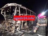 (+الحصيلة والتفاصيل).أكادير24 تنفرذ بنشر صور مؤلمة لحادثة اندلاع حريق حافلة أكادير والذي أسفر عن عدد من القتلى و الجرحى