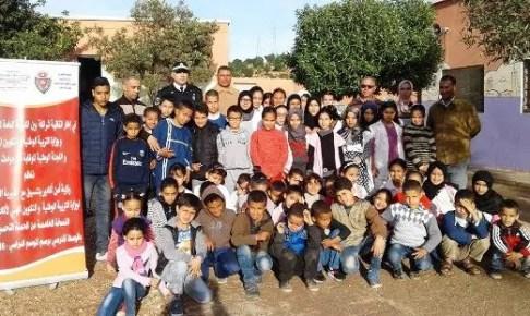 أكادير :لقاء تواصلي لمسؤول أمني مع تلاميذ مؤسسة تعليمية بأكادير