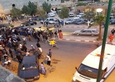 حادثة خطيرة بمركز سب الكردان صحيتها صاحب دراجة عادية