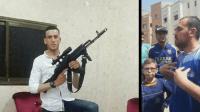 خطير بالصورة:شاب من الريف بوجه مكشوف يهدد بحمل السلاح والمغاربة يطالبون باعتقاله