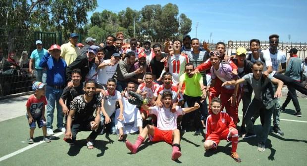 فتيان حسنية اكادير يواجهون فتيان الفتح في نهائي البطولة الوطنية