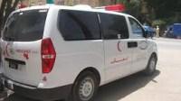 """مثير: الأمن يضبط سيارة إسعاف """"مهربة"""" 4 دراجات نارية"""