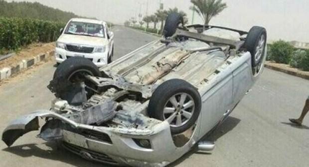حرب الطرق تخلف مصرع شخصين و إصابة آخرين في حادث انقلاب سيارة خفيفة…