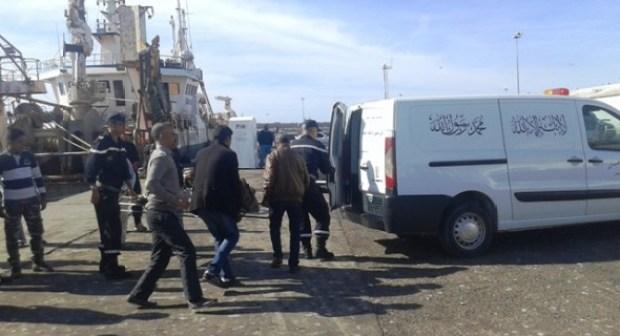 اكتشاف جثة بحار وسط شباك مركب صيد بميناء أكادير