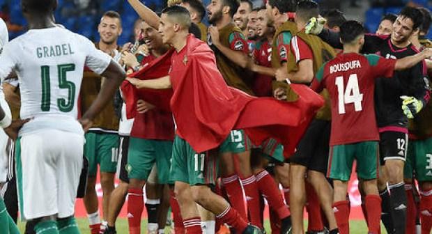 """توجيه دعوة للمنتخب المغربي لزيارة السعودية وأداء العمرة، بمناسبة التأهل لكأس العالم 2018م """" ."""