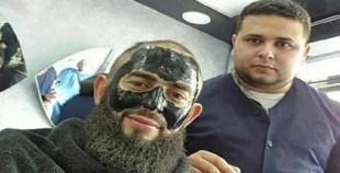 هكذا رد الشيخ رضوان على صورة القناع التجميلي النسائي