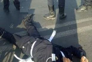 شاحنة من الوزن الثقيل تدهس رجل أمن وترديه قتيلا في حادث مروع