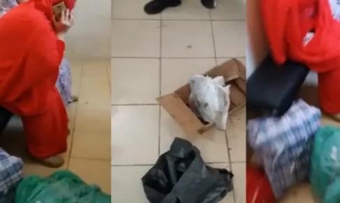 مستجدات قضية السيدة المتلبسة بمحاولة نقل رأس خروف به أعمال سحر وشعوذة من إنزكان