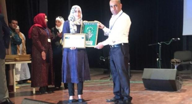 أكادير:مستمعو الإذاعات يكرمون  الإعلامية الأمازيغية فاطمة أكبوض