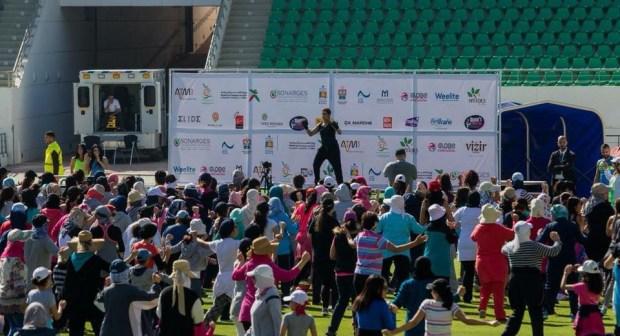 ملعب أكادير يفتح أبوابه لتشجيع المرأة السوسية على ممارسة الرياضة