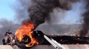 عااجل بأكادير : خسائر ثقيلة و ضحايا في حادث دهس خطير نجمت عنه نيران كثيفة (+صور).