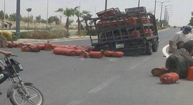 شاحنة لنقل قنينات الغاز تقتل تلميذة كانت في طريقها إلى المدرسة