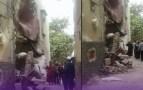 """مأساة بالصور:أسر إنزكانية تبيت في العراء منذ اليوم الأول من رمضان، بعد أن تسببت """"بوطة"""" في انهيار منزلهم"""