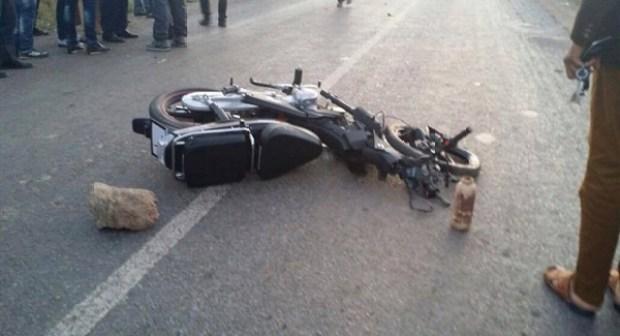 """مصرع سائق دراجة نارية تحت عجلات سيارة """"كونغو"""" بإنزكان"""