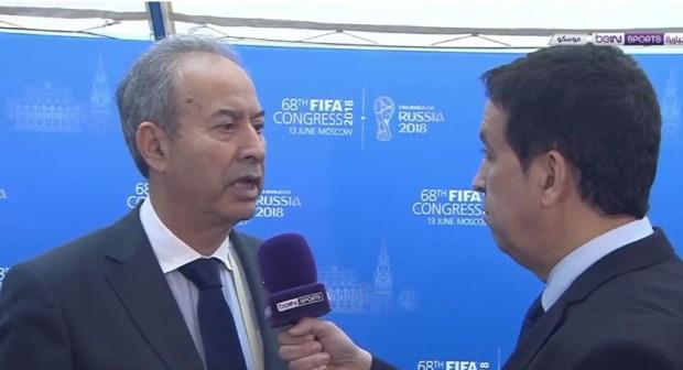 سفير المغرب بروسيا:مؤسف أن يتخلى عنا العرب و المغرب سيتقدم بملف مشترك لتنظيم كأس العالم