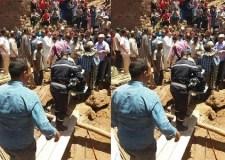 (+صور)فاجعة:انهيار منزل فوق رؤوس قاطنيه يخلف مصرع 3 أشخاص