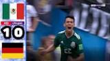 ملخص المباراة الجنونية و الممتعة التي انهزم من خلالها حامل لقب كأس العالم أمام المكسيك
